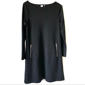 GAP NWT Zipper Pocket Long Sleeve Dress Medium